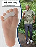 Hammer Toe Straightener, Gel Toe Crest Pad, Toe