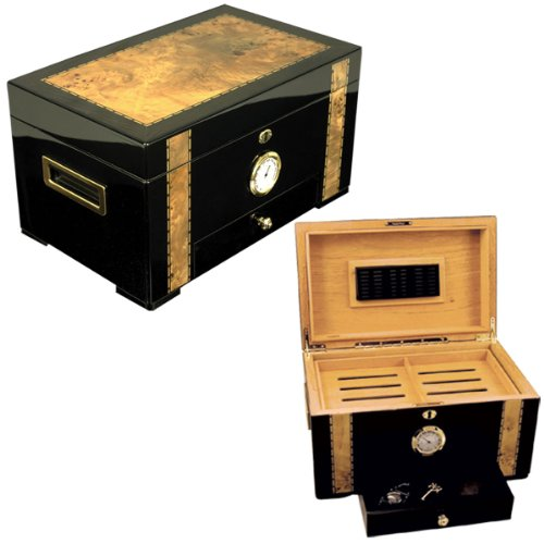 Quality Humidors Exotic Cigar Humidor Cuban Exotica for 150 Cigars (Cuban Humidor Crafters)