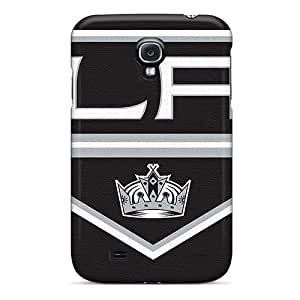 DrawsBriscoe Samsung Galaxy S4 Los Angeles Kings Image Phone Hard Cases