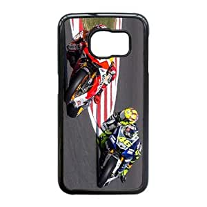 Marc Marquez For Samsung Galaxy S6 Edge Cell Phone Case Black ADS074679
