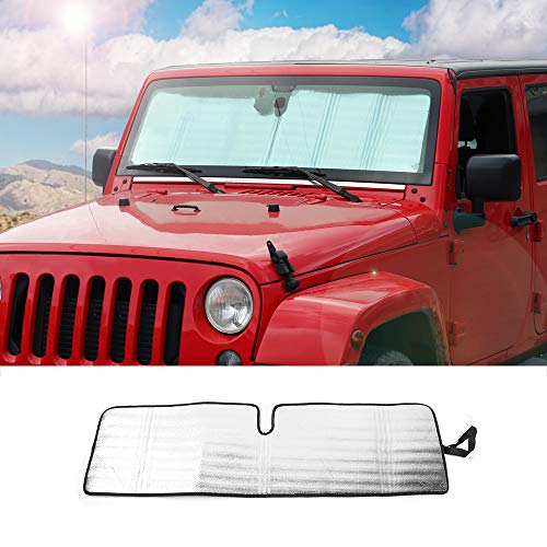 Windshield Sunshade Foldable Protector Wrangler