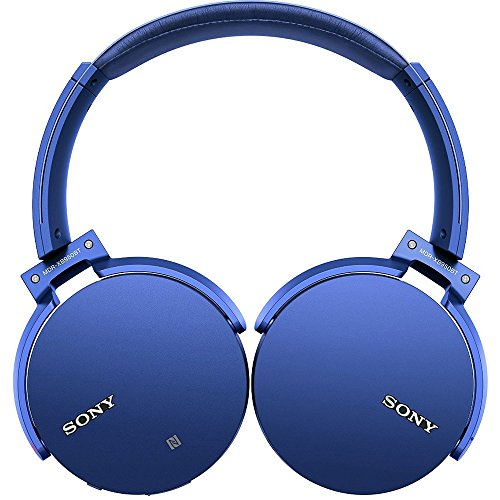 bluetooth sony bluetooth headphones sony extra bass bluetooth headphones blue mdrxb950bt l. Black Bedroom Furniture Sets. Home Design Ideas