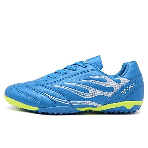 Xing Lin Botas De Fútbol La Uña Rota Zapatos De Fútbol Juvenil Anti-Deslizamiento Plana Zapatos De Cuero Zapatillas De Entrenamiento Bao Lan