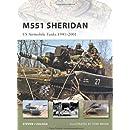 M551 Sheridan: US Airmobile Tanks 1941-2001 (New Vanguard)