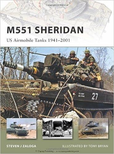 M551 Sheridan: US Airmobile Tanks 1941-2001: US Airmobile Tanks 1940-2000 (New Vanguard)