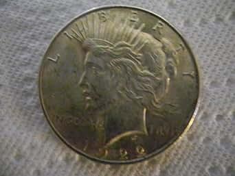 1922-P Silver Peace Dollar