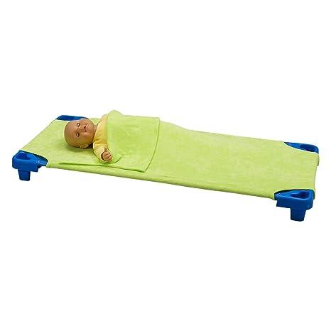 Bricout-Linge - Sábana bajera/saco de dormir para catre, esponja elástica y