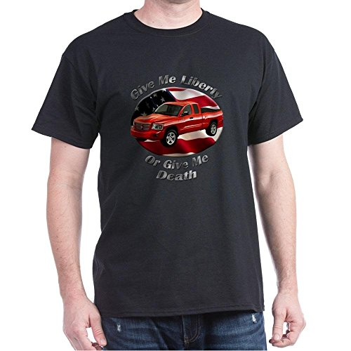 cafepress-dodge-dakota-100-cotton-t-shirt-crew-neck-soft-and-comfortable-classic-tee-with-unique-des