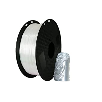 Filamento de impresora 3D PLA 1,75 mm sedoso blanco – Silk White ...