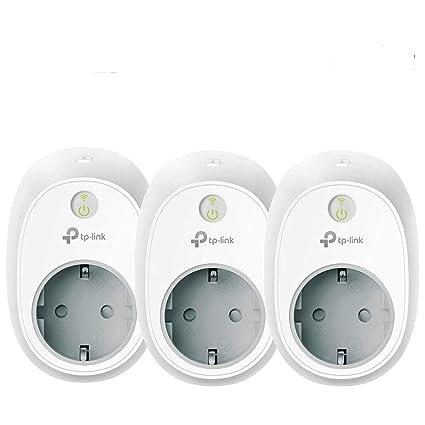 TP-Link hs100p3 Kasa Smart Wi-Fi Enchufe, no Requiere Hub (3 Unidades)