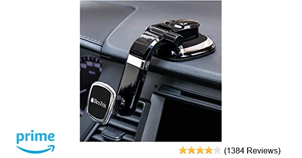 Amazon.com: Magnetic Dashboard Smartphone Car Mount, Phone Holder Compatible with All Smartphones by Bestrix: Cell Phones & Accessories