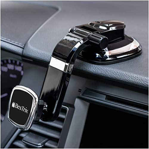 Magnetic Dashboard Smartphone Car Mount, Phone Holder Compatible with All Smartphones by ()