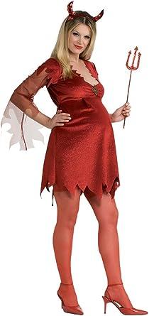 Disfraz Diablesa Premamá: Amazon.es: Ropa y accesorios
