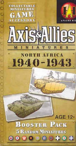 Wizards of the Coast Axis and Allies Miniatures North Africa 1940-1943 An Axis and Allies Miniatures Board Game Expansion (And Axis Allies Miniatures)