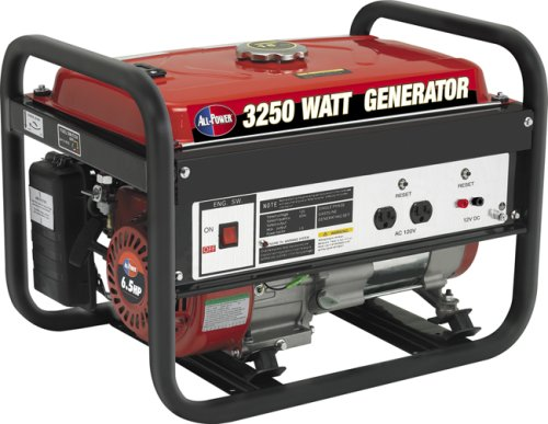 All Power America APG3012, 3250W Watt Generator, Lightweight Gas Powered Portable Generator for Home Use Power Backup, RV Standby, EPA Certified