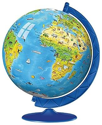 Ravensburger -Children's World Globe 3D Puzzle (180 pc) by Ravensburger