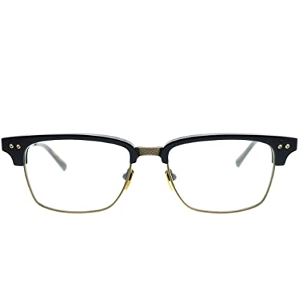 fe8d94e17be9 Eyeglasses Dita STATESMAN THREE DRX 2064 E-NVY-GLD Navy-Antique Gold at  Amazon Men s Clothing store