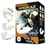 Best Boxing Mouthguards - UROKAZ Football Mouth Guard Sports 3 Pieces Mouthguard Review