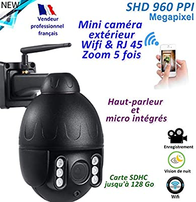 Mini cámara WiFi + RJ45 Pro. - Giratoria - Impermeable IP66 - Zoom ...