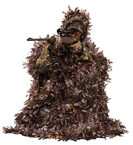 Best Ghillie Suit Ponchos - Ameristep 3D Leafy Poncho, Realtree Max
