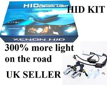 UNIVERSAL XENON HID CONVERSION KIT H4-2 8000K LIGHT BLUE STANDARD BALLAST 35W