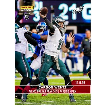 Galleon 2016 Panini Instant Nfl Football 182 Carson Wentz