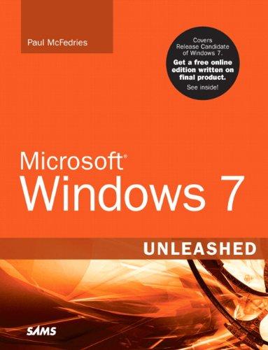 Microsoft Windows 7 Unleashed Kindle Editon