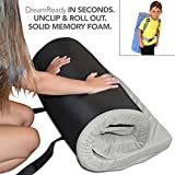 "Better Habitat DreamReady Portable Kids Sleeping Mattress (Ages 4-12; 62x26x2""). [Solid Memory Foam, roll Out Convenient & Safe Sleep pad w/Waterproof Cotton Terry Cover & Travel Bag]"