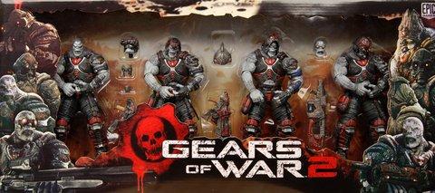 Neca Gears of War - Locust Hive Box Set (Gears Of War 2 Locust Hive Box Set)