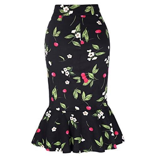 3efd01c4ac1d Kate Kasin Womens Wear To Work Stretchy Pencil Skirts KK220 on sale ...