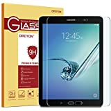 Samsung Galaxy Tab S2 8.0 Glass Screen Protector, OMOTON Tempered-Glass Protector with [9H Hardness] [Crystal Clear] [Scratch-Resistant] [No-Bubble Installation], For Wi-Fi Version SM-T710 ONLY