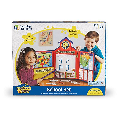how to play pretend school at home