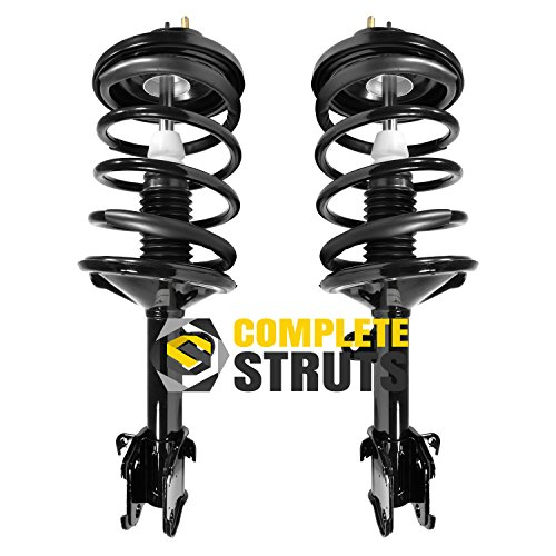 Front Quick Complete Struts & Coil Spring Assemblies Compatible with 2001-2002 Acura MDX (Pair)