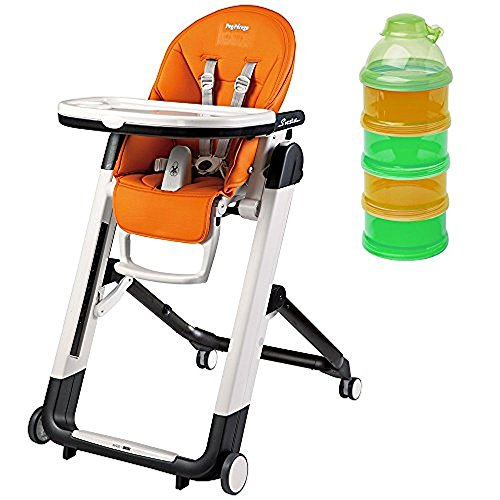 Peg Perego Siesta Highchair Arancia & Formula Dispenser
