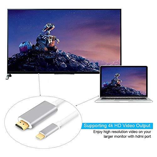 iBosi Cheng USB C to HDMI DisplayPort Cable (6.0ft/ 1.8m)