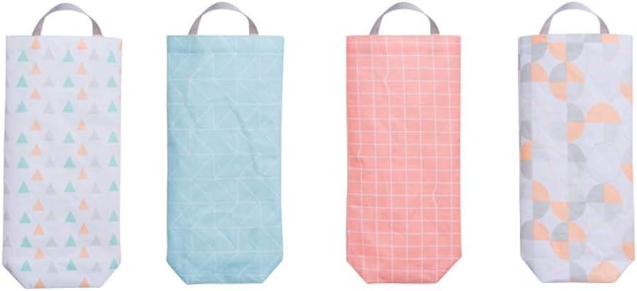 Macabolo 2 Pack Wand h/ängen Plastikt/üte Halter wasserdicht M/ülltasche Dispenser f/ür K/üche Toilette