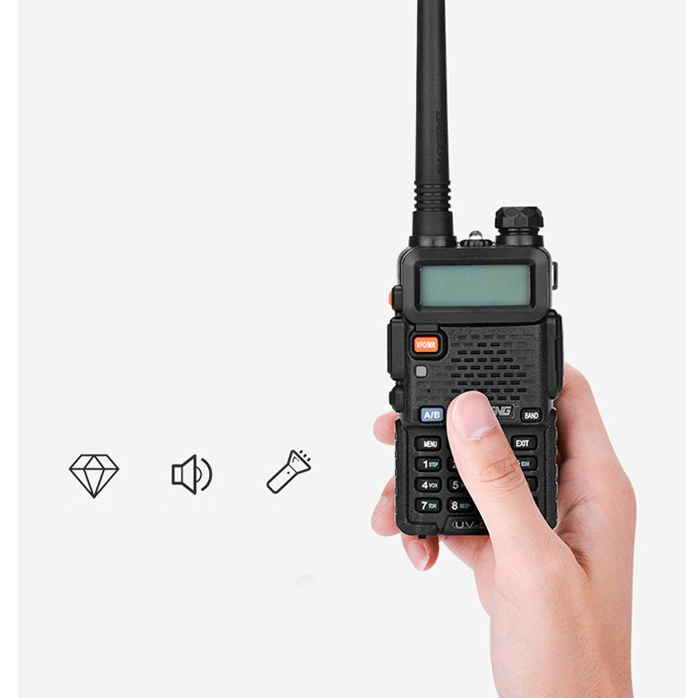 LGFA 5W Power Civil walkie-Talkie 128 Channels interphone Wireless 1-15 km Signal Reception 1800 mAh high Capacity Lithium Battery by LGFA (Image #5)