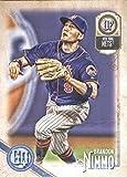 2018 Topps Gypsy Queen #155 Brandon Nimmo New York Mets Baseball Card - GOTBASEBALLCARDS