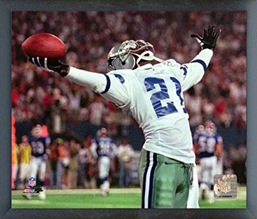 Deion Sanders Dallas Cowboys Action Photo (Size: 12