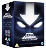 Avatar: The Last Airbender: The Complete 3-Book Collection [DVD]