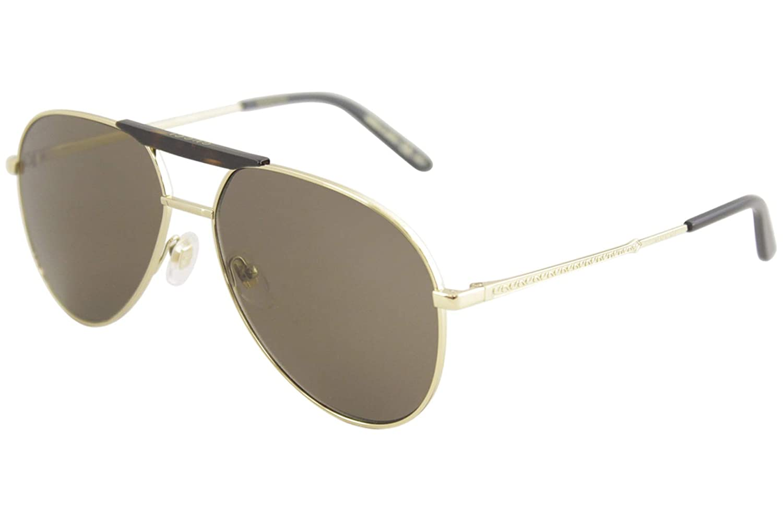 6dbbc74141a39 Amazon.com  Gucci Brown Aviator Sunglasses GG0242S 002 59  Clothing