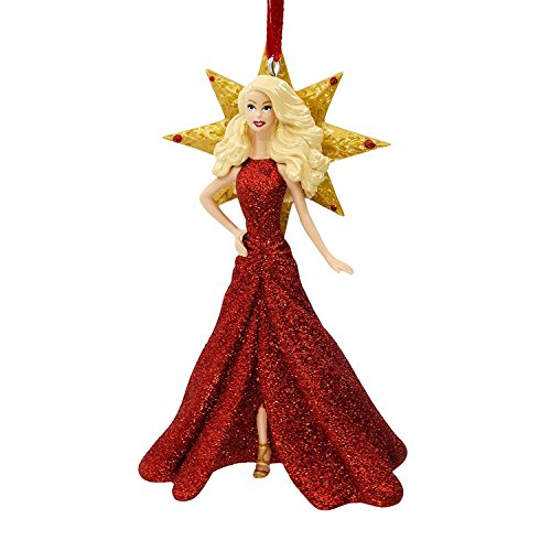 2017 Holiday Barbie Christmas Ornament by Hallmark