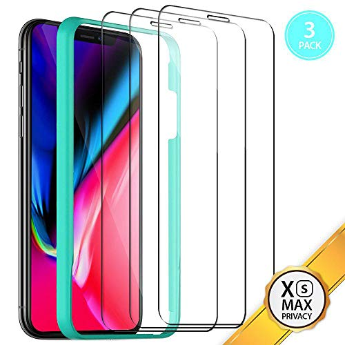 - SeaSum Screen Protector for iPhone Xs Max (3-Packs) HD Tempered Glass[3D Touch] Best Glass for Your Best Apple
