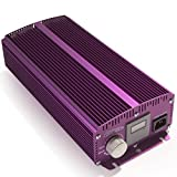 Apollo Horticulture Purple Reign 1000W Watt Digital Dimmable HPS MH Grow Light Ballast for Plant Growing