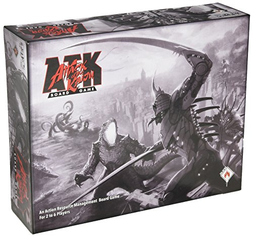 Wildfire Attack of The Kaiju Board Games ()