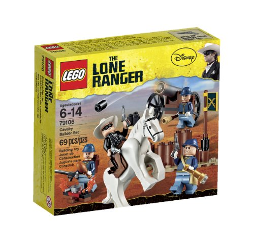 LEGO The Lone Ranger Cavalry Builder Set (79106) (Empire Set Builder)