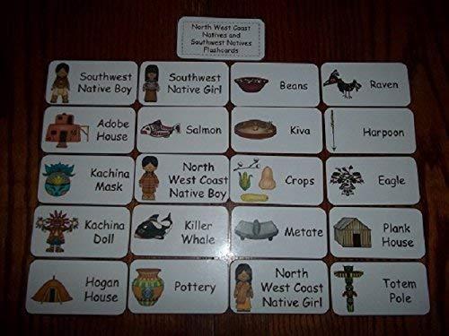 20 West Coast and Southwest Natives Flashcards.