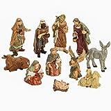 BRUBAKER Christmas Decoration Nativity Set - 3 Inch