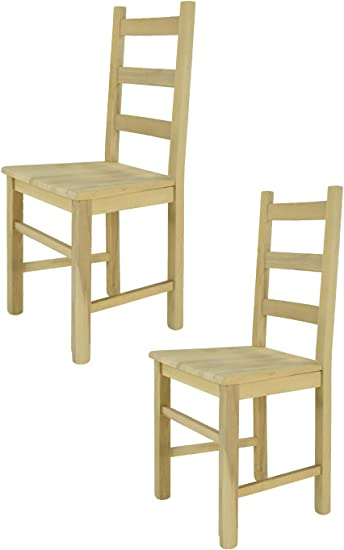 Sedie Classiche In Legno Prezzi.T M C S Tommychairs Set 2 Sedie Classiche Rustica Per Cucina