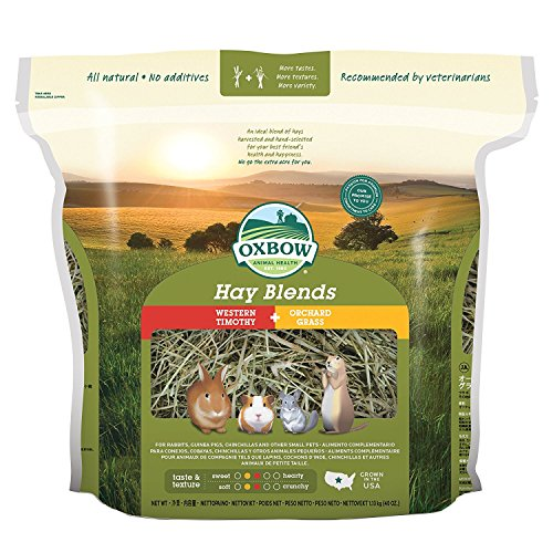 Oxbow Hay Blends Western Timothy and Orchard 40oz